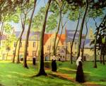 Sir Winston Churchill - Le Beguinage, Bruges 1946