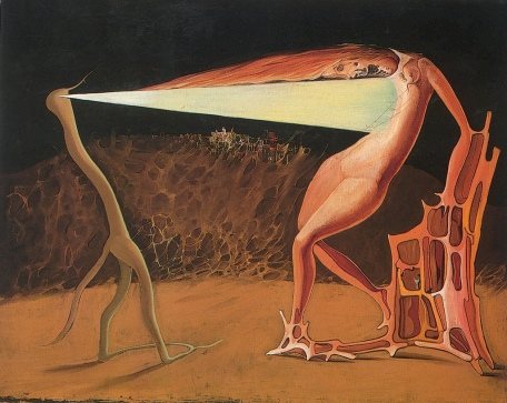 Victor Brauner - Le ver luisant