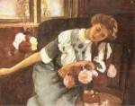Ştefan Luchian - Lorica cu crizanteme