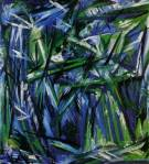 Natalia Goncharova - Blue and Green Forest