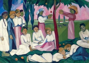 Natalia Goncharova - Picking Apples