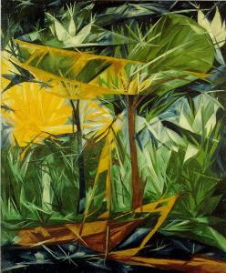 Natalia Goncharova - The Green and Yellow Forest