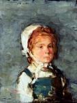 Nicolae Grigorescu-Portret de fetiţă bretonă