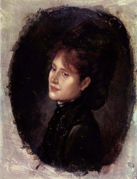 Rosa - goblen galerie - Pagina 3 Nicolae-grigorescu-portretul-doamnei-alexianu