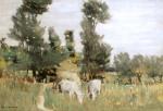Stefan Luchian - Peisaj cu boi