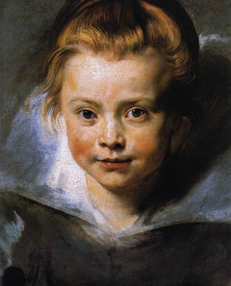 Peter Paul Rubens - Portrait of a Young Girl