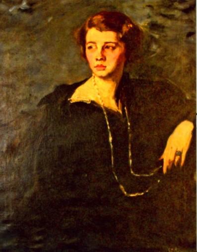 Eustațiu Stoenescu - Portret de femeie