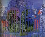 Raoul Dufy - La grille huile sur toile