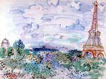 Raoul Dufy - La tour Eiffel