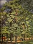 Raoul Dufy - Paysage a falaise
