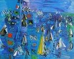Raoul Dufy - Regatta at Cowes