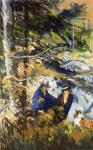 Robert Henri - Among the Rocks( Monhegan Island, Maine)