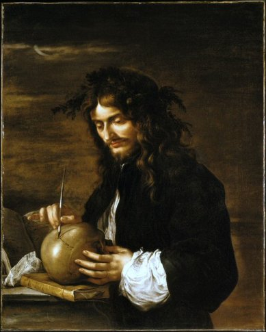 Salvator Rosa - Autoportrait