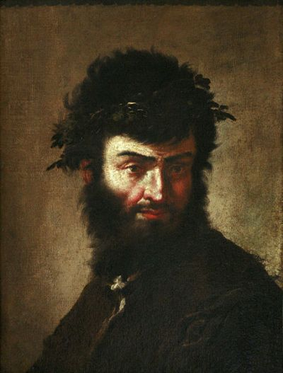 Self-portrait of Salvator Rosa