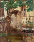 Stefan Luchian-Casa cu gard
