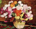 Stefan Luchian-Oala cu crizanteme