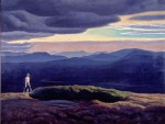 Rockwell Kent - The View from Asgaard