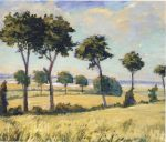 Winston Churchill - Trees near Breccles