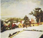 Winston Churchill - Winter View of Chartwell