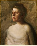 Thomas Eakins - A Singer - Portrait of Mrs. W.H. Bowden