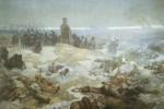 Alphonse Mucha - After  the Battle of Grunwaldu