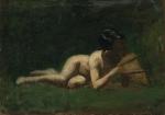 Thomas Eakins - Boy Reclining
