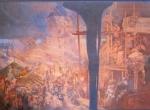 Alphonse Mucha - Defense of Sziget against the Turks by Nicholas Zrinsky