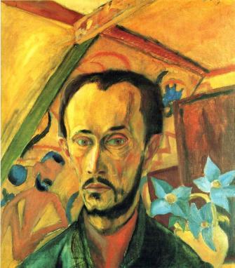 Erich Heckel - Self Portrait