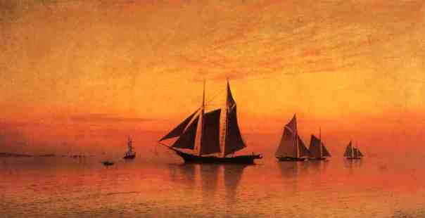 Francis A. Silva - Calm at Sunset