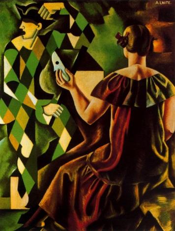 André Lhote - Hommage a Watteau - Arlequin Damasque