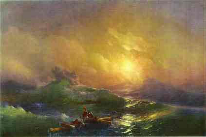 Ivan Aivazovsky. The Tenth Wave