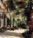 Karl Blechen - Friedrich Wilhelm III`s Palm Court