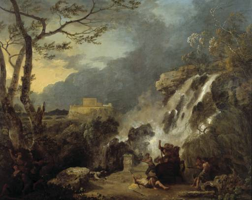 Richard Wilson - Meleager and Atalanta