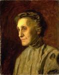 Thomas Eakins - Mrs Helen MacKnight - Portrait of a Mother