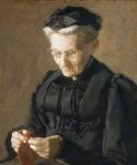 Thomas Eakins - Mrs Mary Arthur