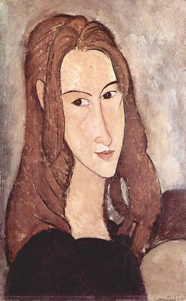 Amedeo Modigliani - Portrait of Jeanne Hébuterne