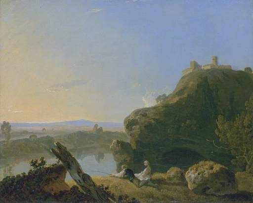 Richard Wilson - River View, on the Arno