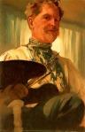 Alphonse Mucha - Self-portrait