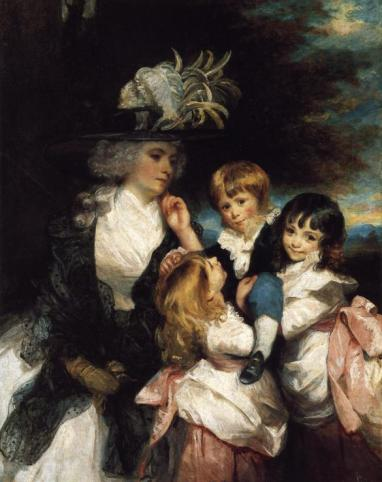 Sir Joshua Reynolds - Lady Smith and Children