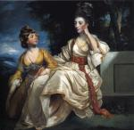 Sir Joshua Reynolds - Mrs Henry Thrale with Her Daughter