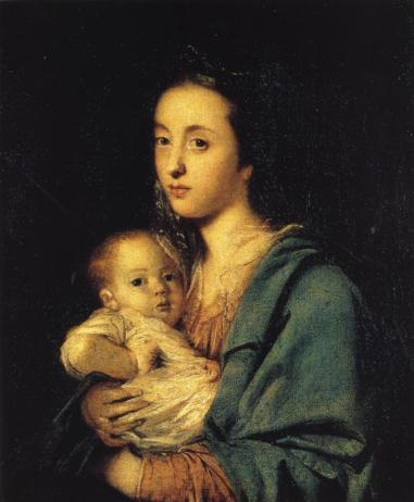 Sir Joshua Reynolds - Mrs Joseph Martin and Her Son