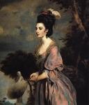Sir Joshua Reynolds - Mrs Richard Crofts