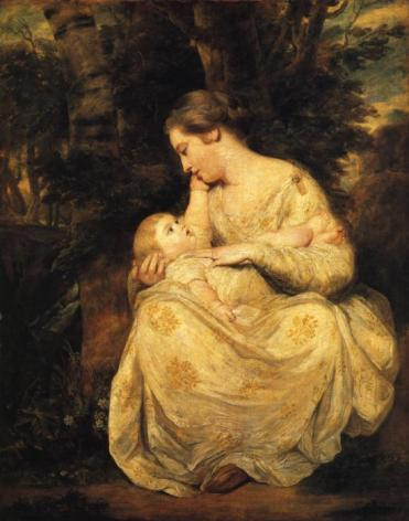 Sir Joshua Reynolds - Mrs Richard Hoare and Child