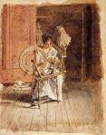 Thomas Eakins - Spinning