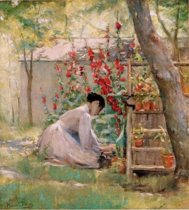 Robert Reid-Tending the Garden