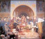 Alphonse Mucha - The Bulgarian Tsar Simeon