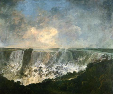 Richard Wilson - The-Falls-of-Niagara