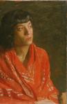 Thomas Eakins - The Red Shawl