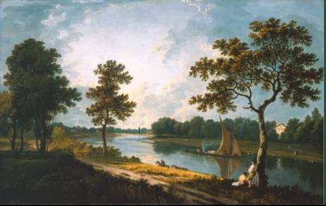 Richard Wilson - The Thames near Marble Hill