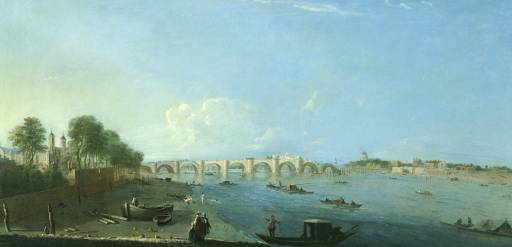 Richard Wilson - Westminster Bridge under Construction